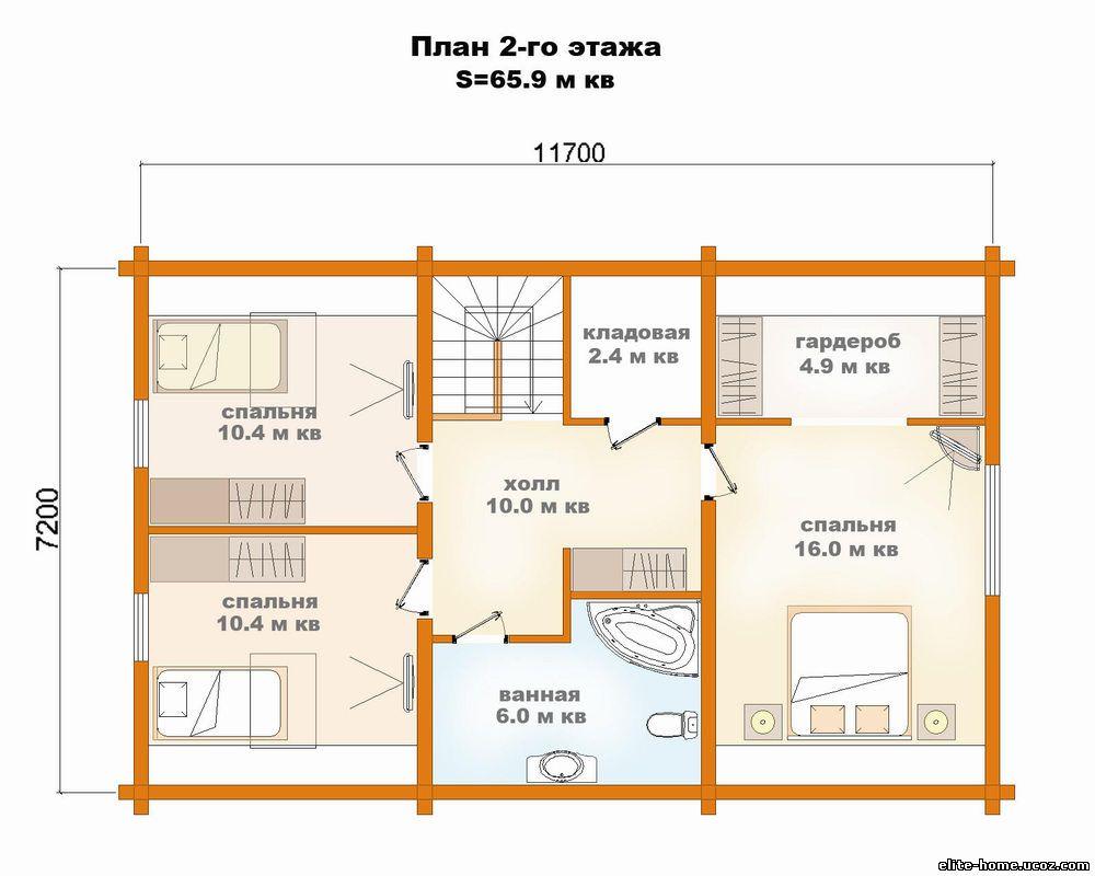Планировка комнат загородного дома